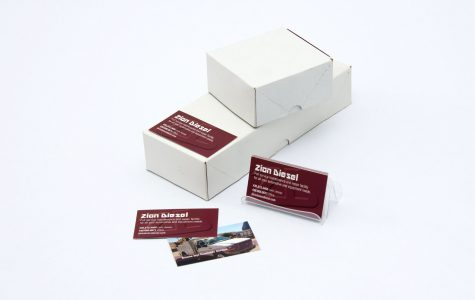 Custom Printed business Cards by black Tie Press