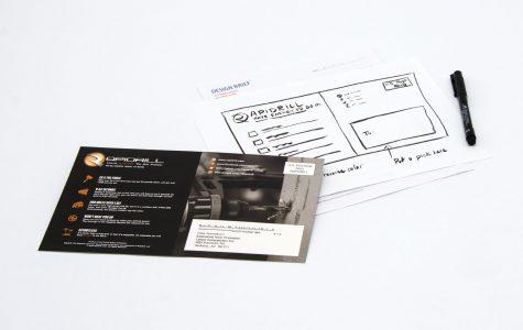 Rapid Drill Flyer Design by Black Tie Press