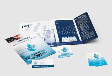 Printed marketing materials by Black Tie Press