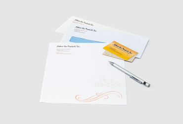 Custom Business Stationery by Black Tie Press